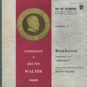 <中古クラシックLPレコード>ベートーヴェン:交響曲全集/B.ワルター指揮コロンビアso./ウェストミンスターcho. E.グンダリ(s)他 silent-tone-record 02
