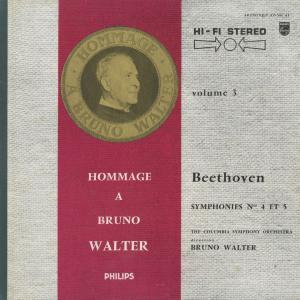 <中古クラシックLPレコード>ベートーヴェン:交響曲全集/B.ワルター指揮コロンビアso./ウェストミンスターcho. E.グンダリ(s)他 silent-tone-record 03