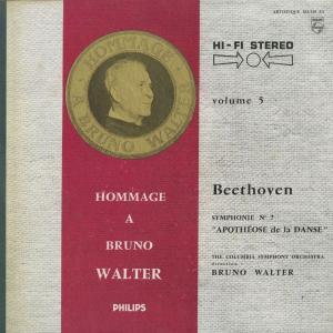 <中古クラシックLPレコード>ベートーヴェン:交響曲全集/B.ワルター指揮コロンビアso./ウェストミンスターcho. E.グンダリ(s)他 silent-tone-record 05
