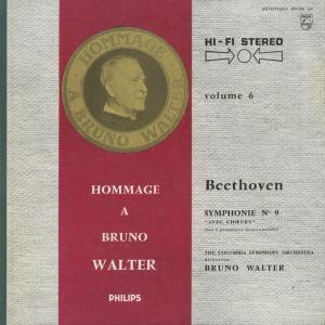 <中古クラシックLPレコード>ベートーヴェン:交響曲全集/B.ワルター指揮コロンビアso./ウェストミンスターcho. E.グンダリ(s)他 silent-tone-record 06