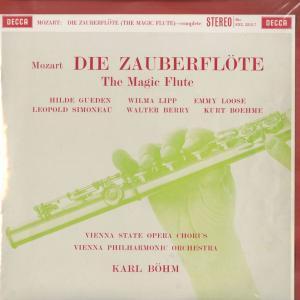 <中古クラシックLPレコード>モーツァルト:魔笛(全曲)/K.ベーム指揮ウィーンpo.,H.ギューデン,W.リップ,E.ローゼ(s)L.シモノー(t)他