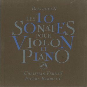 <中古クラシックLPレコード>ベートーヴェン:ヴァイオリン・ソナタ全集(10曲)/C.フェラス(vn)P.バルビゼ(pf)/仏VSM:FALP 584-7|silent-tone-record