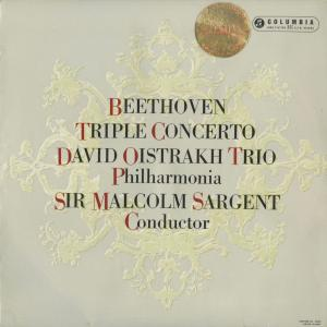 <中古クラシックLPレコード>ベートーヴェン:三重協奏曲/D.オイストラフ(vn)S.クヌシェヴィツキー(vc)L.オボーリン(pf)M.サージェント指揮フィルハーモニアo.|silent-tone-record