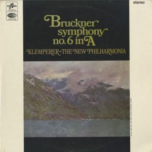 <中古クラシックLPレコード>ブルックナー:交響曲6番(ハース版)/O.クレンペラー指揮ニュー・フィルハーモニアo./英COLUMBIA:SAX 2582|silent-tone-record