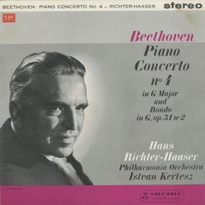 <中古クラシックLPレコード>ベートーヴェン:ピアノ協奏曲4番,ロンド/H.リヒター・ハーザー(pf)I.ケルテス指揮フィルハーモニアo./SAX 2403|silent-tone-record