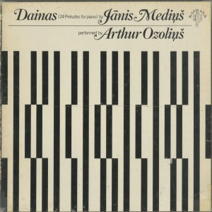 <中古クラシックLPレコード>ヤーニス・メディンシュ:ダイナ(24の前奏曲)/A.オゾリンス(pf)/米KAIBALA:60F 02|silent-tone-record