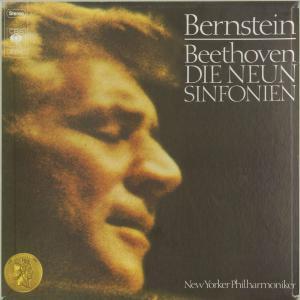 <中古クラシックLPレコード>ベートーヴェン:交響曲全集(9曲)/L.バーンスタイン指揮ニューヨークpo./ジュリアードcho. 他/独CBS:S 77703|silent-tone-record
