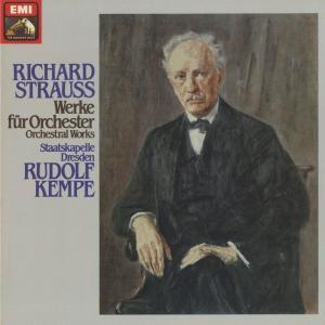 <中古クラシックLPレコード>リヒャルト・シュトラウス:管弦楽曲全集/R.ケンペ指揮ドレスデンsk./独ELECTROLA:1C 165-53260-9|silent-tone-record