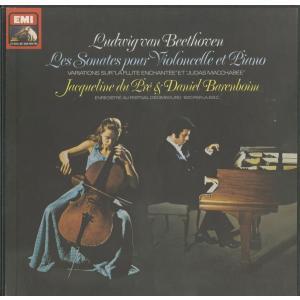 <中古クラシックLPレコード>ベートーヴェン:チェロ・ソナタ,変奏曲/J.デュ・プレ(vc)D.バレンボイム(pf)/仏VSM:2C 167-97313-5|silent-tone-record