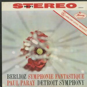 <中古クラシックLPレコード>ベルリオーズ:幻想交響曲Op.14/P.パレー指揮デトロイトso./米MERCURY:SR 90254|silent-tone-record