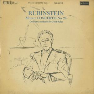 <中古クラシックLPレコード>モーツァルト:ピアノ協奏曲24番K.491,ロンドK.511/A.ルービンシュタイン(pf)J.クリップス指揮o./英RCA:SB 2117|silent-tone-record
