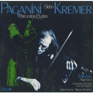 <中古クラシックLPレコード>パガニーニ:ジェノヴァの歌「バルカバ」による60の変奏曲,ミルシテイン,他/G.クレーメル(vn)T.グリンデンコ(vn)|silent-tone-record