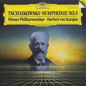 <中古クラシックLPレコード>チャイコフスキー:交響曲5番Op.64/H.v.カラヤン指揮ベルリンpo./独DGG:415 0941|silent-tone-record