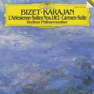 <中古クラシックLPレコード>ビゼー:「アルルの女」第1,2組曲,「カルメン」組曲/H.v.カラヤン指揮ベルリンpo. D.デファイエ(sax)|silent-tone-record
