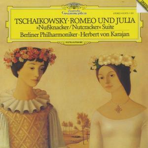 <中古クラシックLPレコード>チャイコフスキー:幻想的序曲「ロメオとジュリエット」,組曲「くるみ割り人形」Op.71a/H.v.カラヤン指揮ベルリンpo.|silent-tone-record