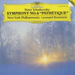 <中古クラシックLPレコード>チャイコフスキー:交響曲6番Op.74「悲愴」/L.バーンスタイン指揮ニューヨークpo./独DGG:419 6041|silent-tone-record