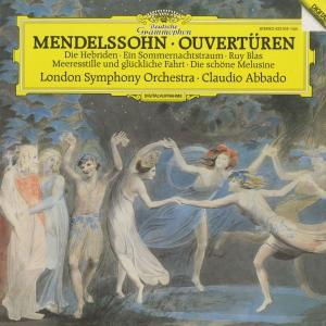 <中古クラシックLPレコード>メンデルスゾーン・序曲集/C.アバド指揮ロンドンso./独DGG:423 1041|silent-tone-record
