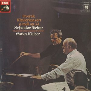 <中古クラシックLPレコード>ドヴォルザーク:ピアノ協奏曲Op.33/S.リヒテル(pf)C.クライバー指揮バイエルン国立o./独ELECTROLA:1C 069-02884 silent-tone-record