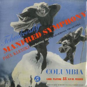 <中古クラシックLPレコード>チャイコフスキー:交響曲「マンフレッド」Op.58/P.クレツキ指揮フィルハーモニアo./英COLUMBIA:33CX 1189|silent-tone-record