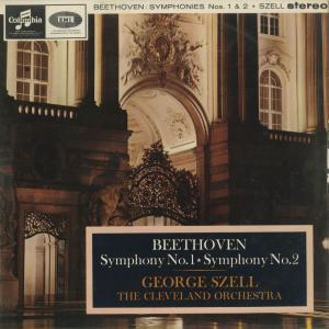 <中古クラシックLPレコード>ベートーヴェン:交響曲1番Op.21,2番Op.36/G.セル指揮クリーブランドo./英COLUMBIA:SAX 2565