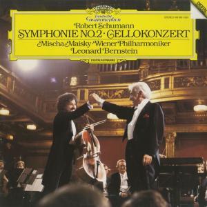 <中古クラシックLPレコード>シューマン:チェロ協奏曲Op.129,交響曲2番Op.61/M.マイスキー(vc)L.バーンスタイン指揮ウィーンpo./独DGG:419 1901 silent-tone-record
