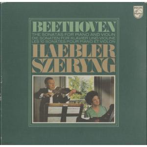 <中古クラシックLPレコード>ベートーヴェン:ヴァイオリン・ソナタ全集/H.シェリング(vn)I.ヘブラー(pf)/欧PHILIPS:6769 011