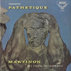<中古クラシックLPレコード>チャイコフスキー:交響曲6番Op.74「悲愴」/J.マルティノン指揮ウィーンpo./英DECCA:SXL 2004