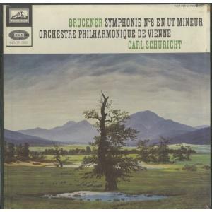 <中古クラシックLPレコード>ブルックナー:交響曲8番/C.シューリヒト指揮ウィーンpo./仏VSM:FALP 825-6
