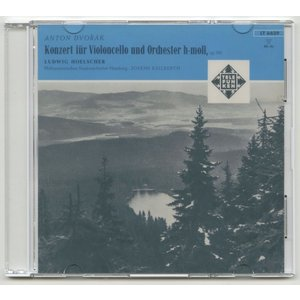 <自主製作DSD>ドヴォルザーク:チェロ協奏曲/L.ヘルシャー(vc)J.カイルベルト指揮ハンブルクpo./独TELEFUNKEN:LT 6629|silent-tone-record