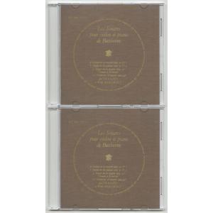 <自主製作DSD>ベートーヴェン:ヴァイオリン・ソナタ6,7,8,10番/DF 169-70|silent-tone-record