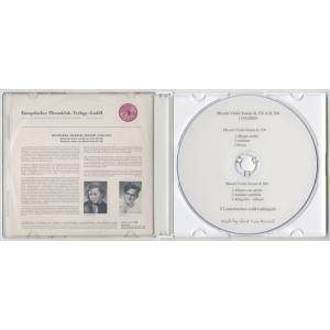 <自主製作DSD>モーツァルト:ヴァイオリン・ソナタK.526,306/S.ラウテンバッハー(vn)M.ガリング(pf)/独OPERA:1193|silent-tone-record|02