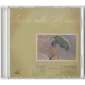 <自主製作DSD>メンデルスゾーン:ヴァイオリン協奏曲、バッハ:シャコンヌ、他/ジョコンダ・デ・ヴィート、マルコム・サージェント指揮ロンドン交響楽団|silent-tone-record