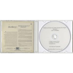 <自主製作DSD>ベートーヴェン:ヴァイオリン・ソナタ「クロイツェル」/ジョコンダ・デ・ヴィート、ティート・アプレーア/英HMV:ALP 1319|silent-tone-record|02
