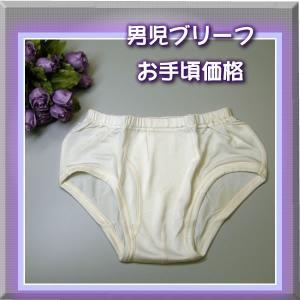 【お手頃価格】キッズ男の子シルクスムースブリーフ【120cm】 silk-health