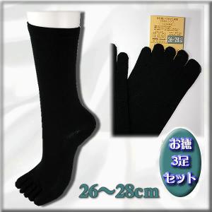 5本指の独立効果で、指間を刺激。足本来の機能を 活性かします。絹紡糸は吸湿、放湿性に優れ、 ムレを防...