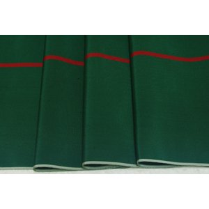 シルク つむぎ 緑系の地色に縞の絣(かすり) 難あり品 (シルク 正絹 和柄 和風 友禅 衣装 生地 着物 はぎれ ハギレ)|silk-honpo
