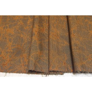 シルク つむぎ グレー系の地色に幾何学文様の絣(かすり) (シルク 正絹 和柄 和風 友禅 衣装 生地 着物 はぎれ ハギレ) silk-honpo