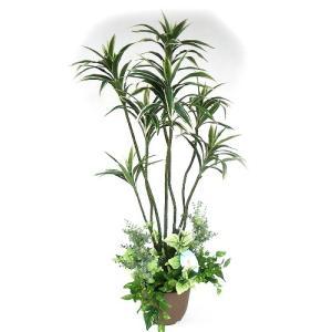 造花 観葉植物 大型 ドラセナツリー 115 TKD snb CT触媒 silkflower
