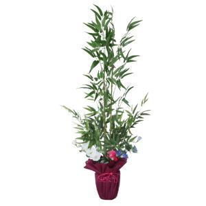 笹 造花 七夕 竹 笹竹の鉢植え130cm フェイク CT触媒 snb