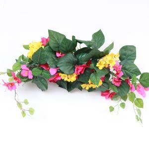 ブライダル 造花 ブーゲンビリアのスワッグ シルクフラワー 造花 CT触媒 silkflower