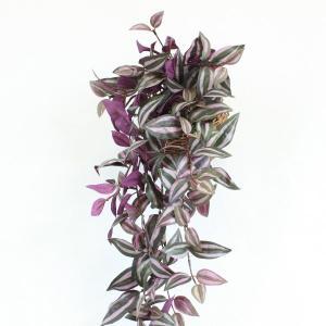 観葉植物 造花 バスケットに入ったトラディスカンチャーの壁掛け CT触媒 silkflower