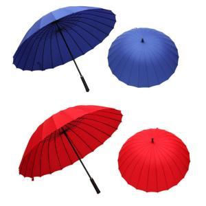 ゴルフ用傘 長傘 防風性能 大型傘 24本骨 紳士傘 撥水加工 アウトドア用品 晴雨併用 男女兼用 大きい  雨具|silkroad2014|09