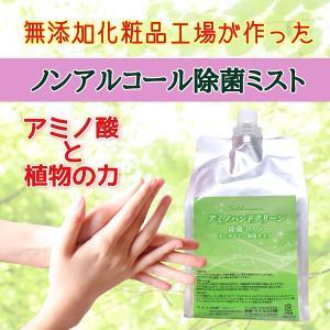 アミノ酸除菌ミスト アミノハンドクリーン 詰め替え用|silkueen-honest