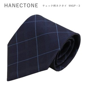 HANECTONE 99GP-3 ハネクトーン 男子 制服 高校生 チェック柄 スクールネクタイ ネ...