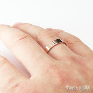 リング 指輪 レディースリング ステンレスリング メンズリング ペアリング 甲丸 金属アレルギー対応 リング|silver-almighty|08