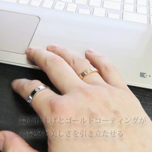 リング 指輪 レディースリング ステンレスリング メンズリング ペアリング 甲丸 金属アレルギー対応 リング|silver-almighty|09