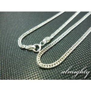 2mm喜平チェーンネックレス40cm/シルバーチェーンネックレス/シルバーアクセサリー/シルバー925/チェーン/|silver-almighty