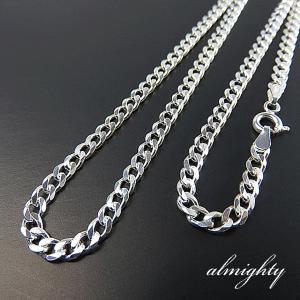喜平チェーン 幅3.5mm 喜平チェーン 40cmシルバーチェーン シルバーアクセサリー シルバー925 40cm ネックレス シルバー925|silver-almighty