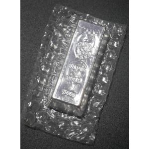 日本 石福金属工業 500g 銀地金 インゴット 品位.9999 LBMA