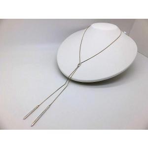 Y字ネックレス シルバー925 シンプル     スネークチェーン スライドネックレス silverbell-jewellery